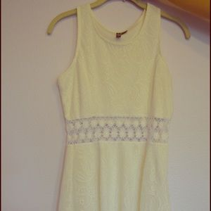 Full Tilt Dresses & Skirts - White Lace Dress