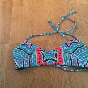 Anthropologie Other - NWOT Mara Hoffman Aztec strappy bikini top swim M