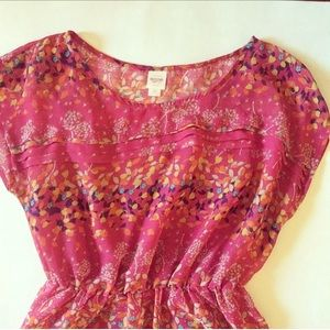Mossimo Supply Co. Dresses & Skirts - Vibrant pink dress w floral pattern
