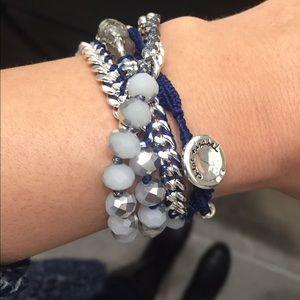 Chloe + Isabel Jewelry - Bead + Chain Multi-Wrap Bracelet