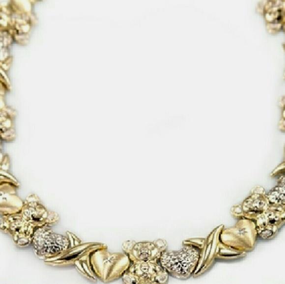 Xoxo Gold Bracelet: 10k Gold Xoxo Necklace