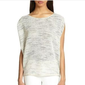 Eileen Fisher Tops - EILEEN FISHER White$228 ITALY RUNWAY TOP BLOUSE XS