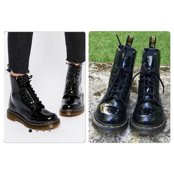 Dr. Martens Modern Classics 1460 Patent 8-Eye Boots J14EYEuHyL
