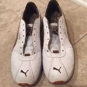 Puma Shoes - Men s Puma Turin Leather Sneakers (no laces) 6f864ef12cfe