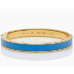 kate spade Jewelry - 'Head in the Clounds' Kate Spade Idiom Bangle