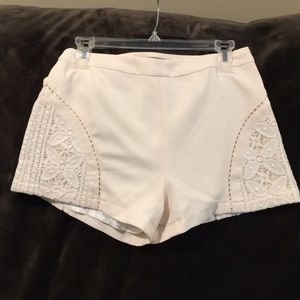Aryn K Pants - White Shorts