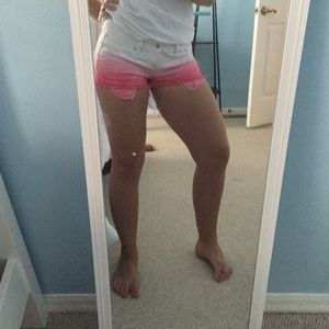 Pink Victoria S Secret Shorts Ombr Hot Pink By Pink