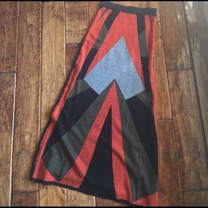 Dresses & Skirts - Graphic print skirt
