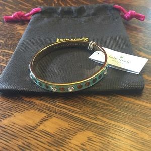 kate spade Jewelry - Sale!! Kate Spade Enamel Bangle -Price Firm!!
