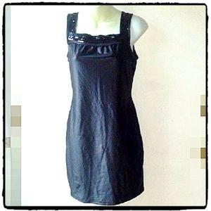 Benetton Little Black Dress w/ Sequins