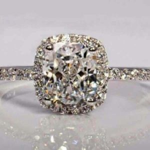 Boutique Jewelry - Petite Simulated Diamond Ring Size 7