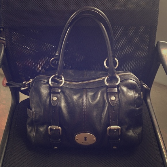 Fossil Handbag-Excellent Condition-Real Leather
