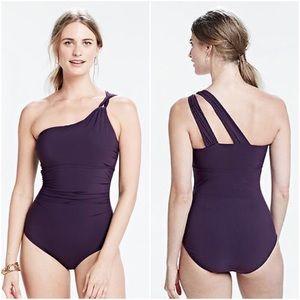 Lands' End Other - Lands' End Shape & Enhance One Shoulder Swimsuit
