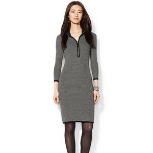 Lauren Ralph Lauren Petite Half-zip Sweater Dress