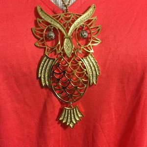 Jewelry - Large Owl Necklace