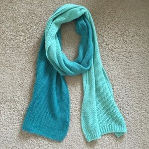 H&M Green Ombre Scarf