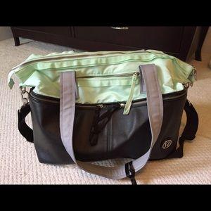 Lululemon yoga workout bag mint