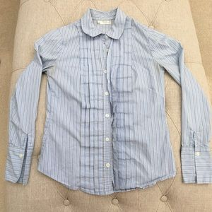 Old Navy Button Down Pinstriped sz XS