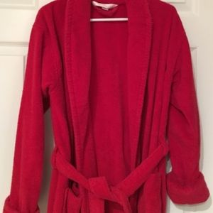 Victoria's Secret Intimates & Sleepwear - Victoria's Secret terry bath robe