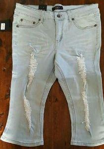 BQB  Pants - Last Pair size 16 🌻New Plus size ripped Capri