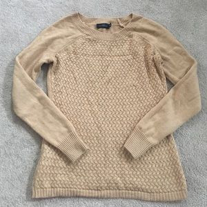 Tan sweater from the limited size XS