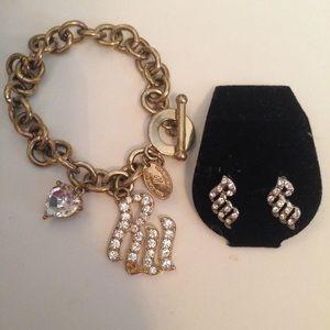 Rocawear Jewelry - Rocawear Matching Jewelry Set - Bracelet &Earrings