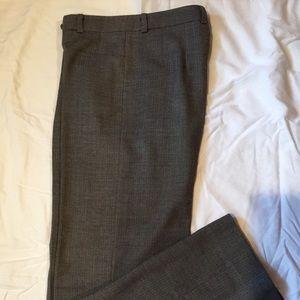 Incotex Pants - Incotex herringbone wool trousers