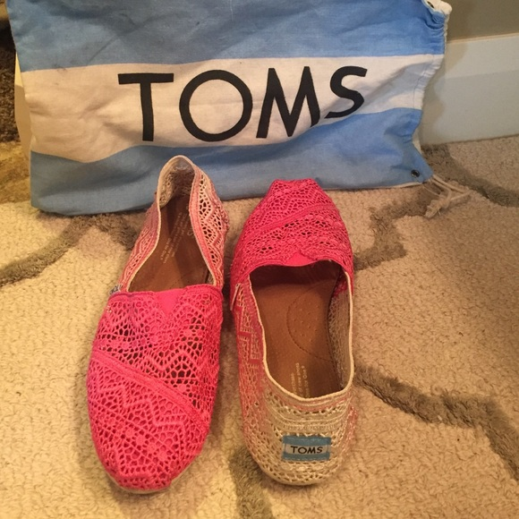 73 toms shoes toms crochet pink ombr 233 shoes 50