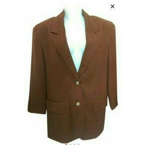 Jackets & Blazers - Vintage brown blazer