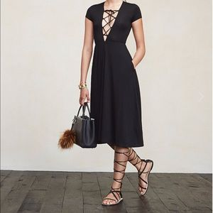 Reformation Dresses - Reformation Sandy Lace Up Dress, Small