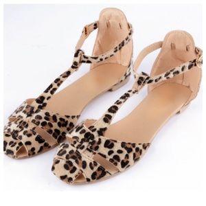 Shoes - 💟LEOPARD PRINT SANDALS