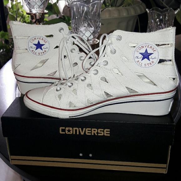 a02ed820202a Converse Shoes - 😎CONVERSE CHUCK TAYLOR HI NESS CUTOUT SNEAKERS