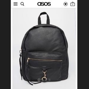 asos bags vegan leather yoki fashion backpack poshmark rh poshmark com