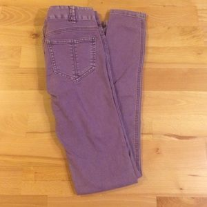 Free People denim skinny jeans W 25