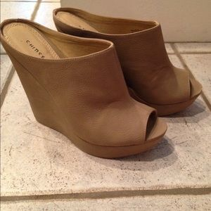 Size 8 neutral wedge