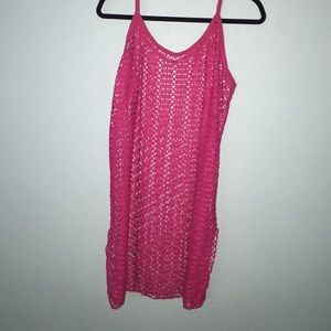 jcpenney Other - Pink swimsuit coverup