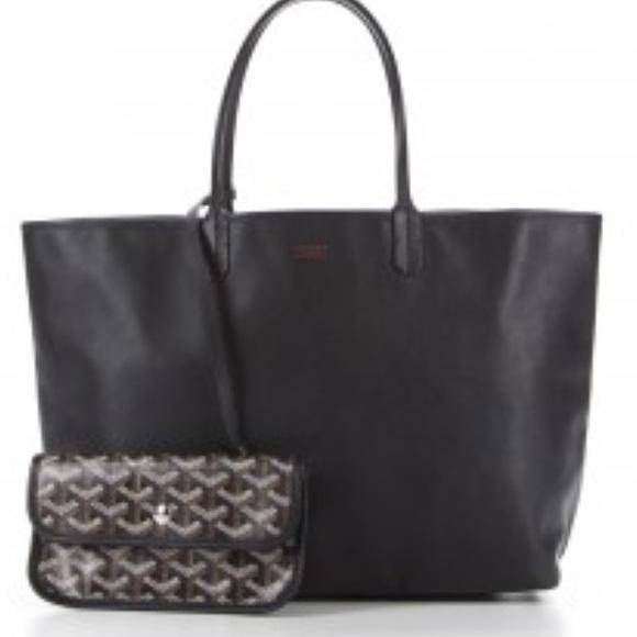 Goyard Bags Nwt Anjou Reversible Tote Black Poshmark