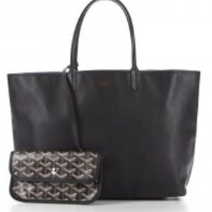 Goyard Handbags - NWT. Goyard 'Anjou' Reversible Tote. Black.