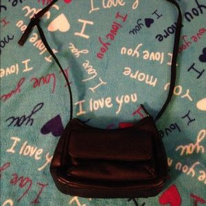 Cherokee Handbags - Black Faux Leather Small Purse