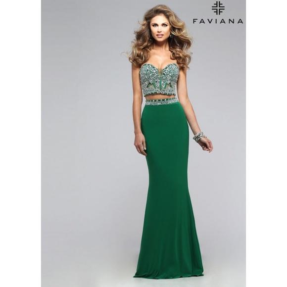 2 PC Prom Dress