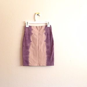 Cotton On Dresses & Skirts - Purple and Beige Bodycon Skirt