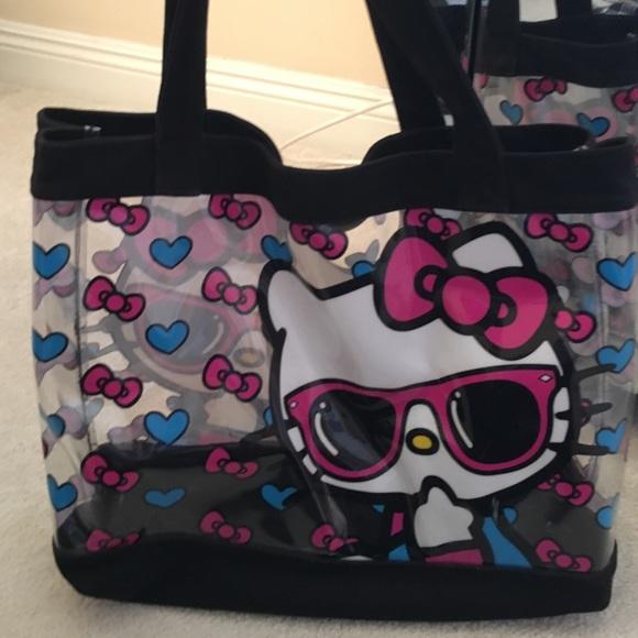 cce5a9eaa086 Hello Kitty Handbags - Hello Kitty Clear Tote