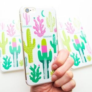 Neon Cactus Desert IPhone 6/6s Case