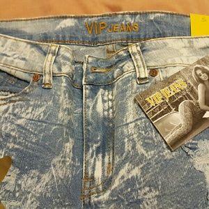 VIP straight leg jeans