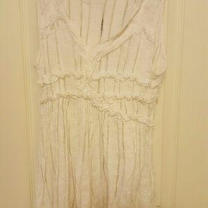 White, cotton shirt