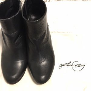 Rachel Comey Shoes - Rachel Comey | Black Leather Booties