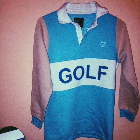 f97070bffc95cc Golf wang Other - Golf wang (dead stock) Small blue white rugby!