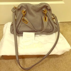 Authentic Chloe Paraty Medium Tote
