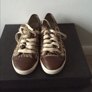 MK Michael Kors monogram sneakers