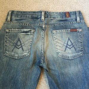 7 for all mankind Studded A Pocket jeans